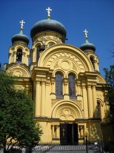 Собор святої Марії Магдалини. Прага у Варшаві