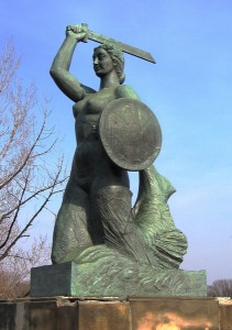 Варшавська Сиренка біля Вісли