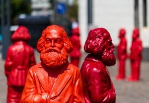 Карл Маркс в місті Трірі