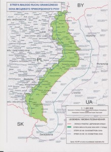 Малий прикордонний рух з Польщею - Карта