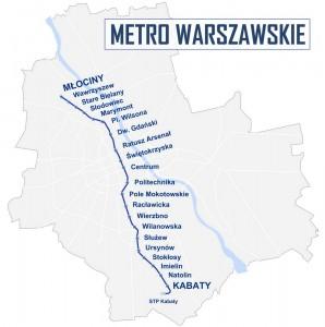 Карта метро в Польщі