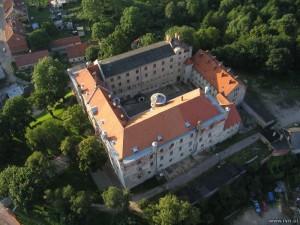 Замок Рин з льоту птаха