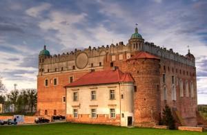 Замок в Голюб-Добжині
