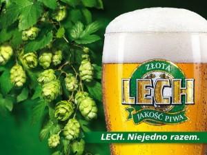Польське пиво Lech