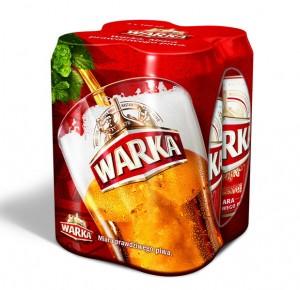 Польське пиво Warka