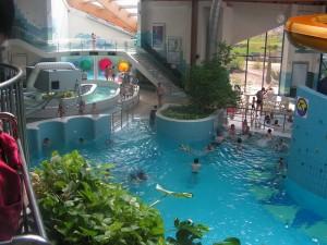 Парк водних атракціонів в місті Полковіце