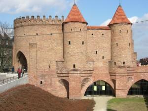 Барбакан у Варшаві