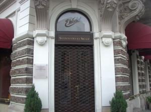 Магазин шоколаду Ведель у Варшаві