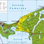 Острів Волін - Карта