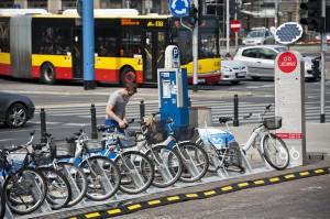 Прокат велосипедів у Варшаві