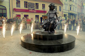 Статуя Бахуса. Зелена Гура для туристів