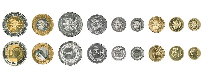 Монети польщі 1 ливр