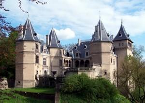 Замок в Голухові