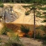 Кольорові озера у Рудавському національному парку