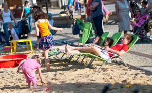 Сухі пляжі в Кросно