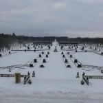 Палац Браницьких зимою