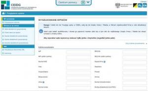 Як перевірити польського роботодавця на ceidg.gov.pl