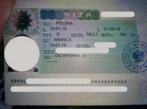 Польська національна робоча віза