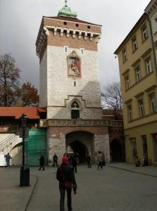 Флоріанські ворота в Кракові