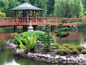Японський сад у Вроцлаві