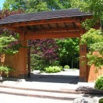 Вхід у Японський сад у Вроцлаві