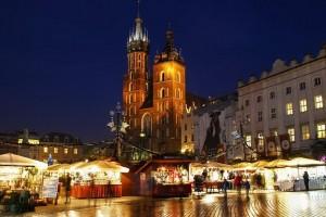 Різдвяний ярмарок у Кракові