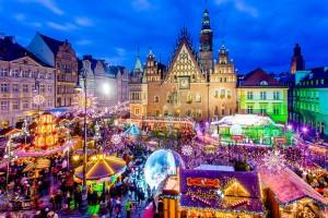 Різдвяний ярмарок у Вроцлаві