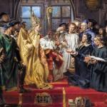 Заснування Академії Любранського в Познані - Картина Яна Матейко