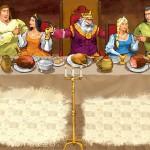 Валигора і Вирвидуб врятували королівство від дракона