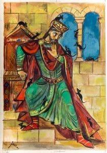 Легенда про короля Попеля і мишей