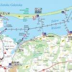 Карта Віслинської затоки