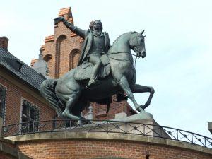 Пам'ятник Тадеушу Костюшко у Вавелі