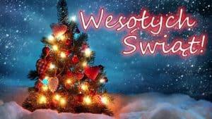 Привітання з Різдвом і Новим роком на польській мові