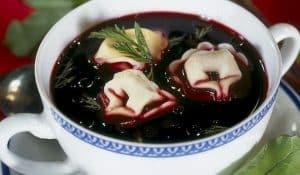 Буряковий суп - червоний борщ