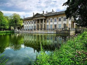 Палац на воді у Варшаві, Лазенки